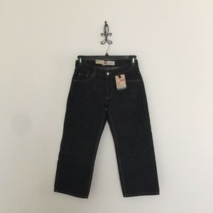 Levi's 550 Black Relaxed Fit Jeans Boy's 8 Husky